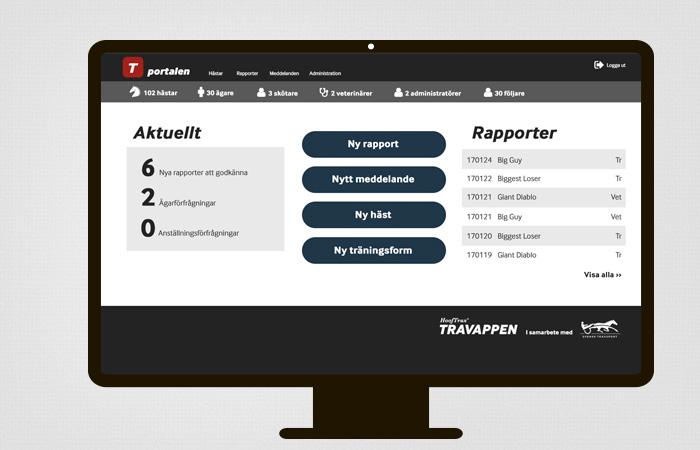 Gränssnitt UX-design webbyrå Örebro